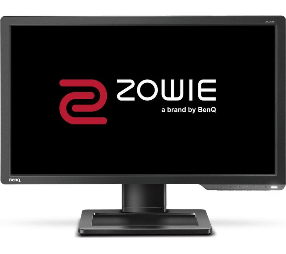 "Image of BENQ Zowie XL2411P Full HD 24"" LED Monitor - Grey, Grey"