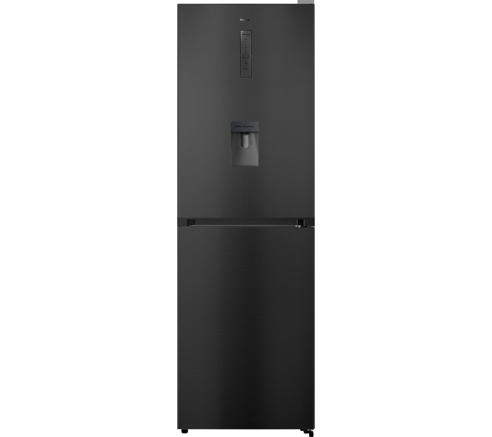 HISENSE RB412N4WF1 50/50 Fridge Freezer - Black Steel