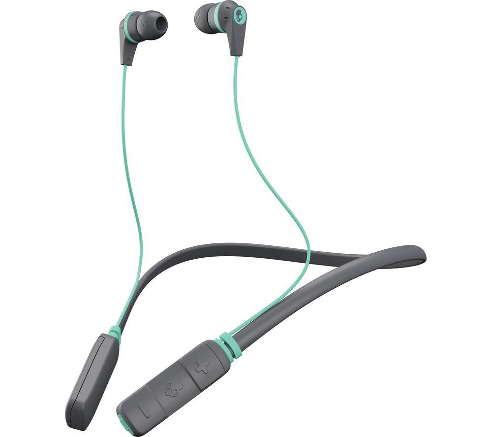 SKULLCANDY Ink'd Wireless Bluetooth Headphones - Grey & Miami