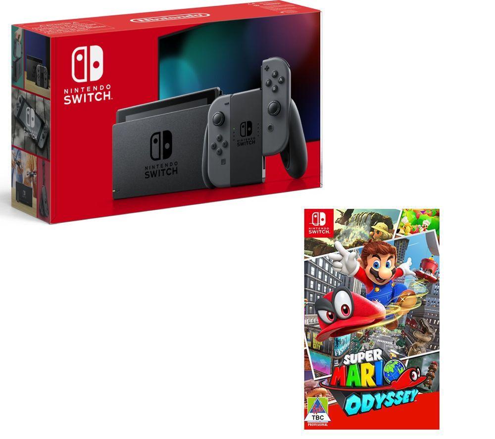 NINTENDO Switch & Super Mario Odyssey Bundle