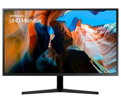 "SAMSUNG U32J590 4K Ultra HD 32"" LED Monitor - Black"