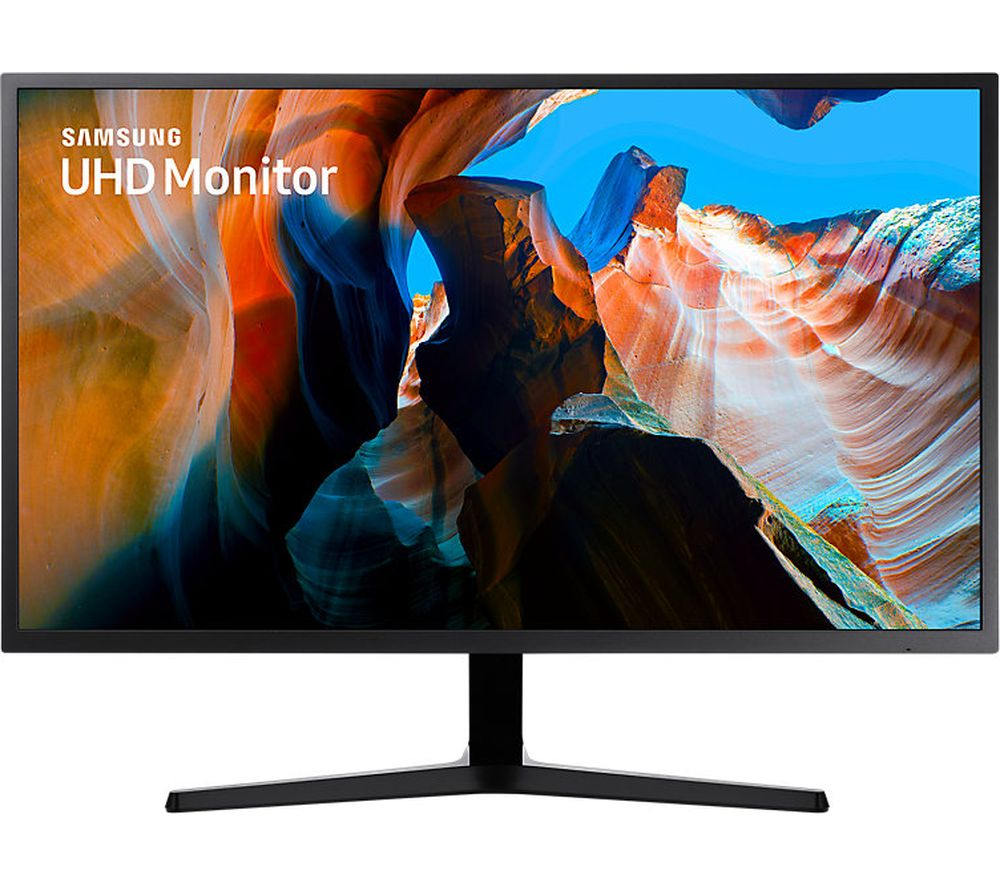 SAMSUNG U32J590 4K Ultra HD 32 inch LED Monitor - Black