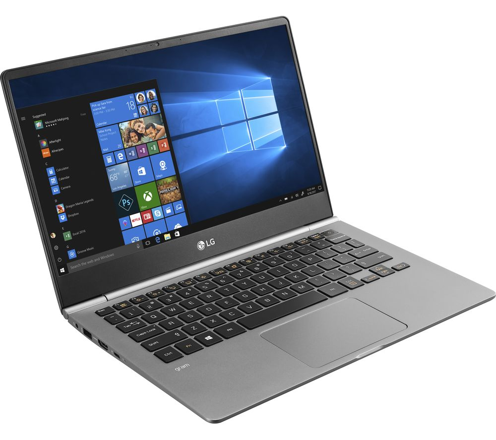 "LG GRAM 13Z980 13"" Intel® Core™ i5 Laptop - 256 GB SSD, Silver"