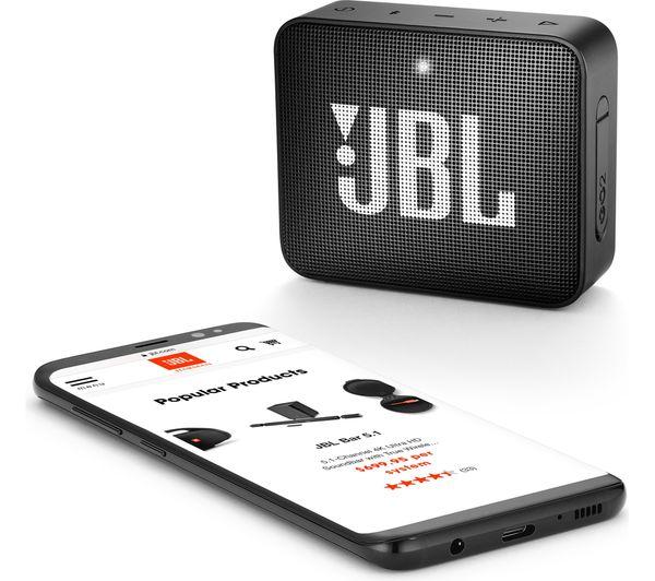 jbl go2 compact portable speaker