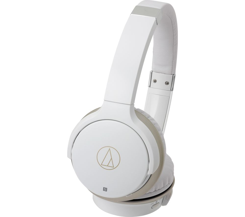 AUDIO TECHNICA ATH-AR3BT Wireless Bluetooth Headphones - White