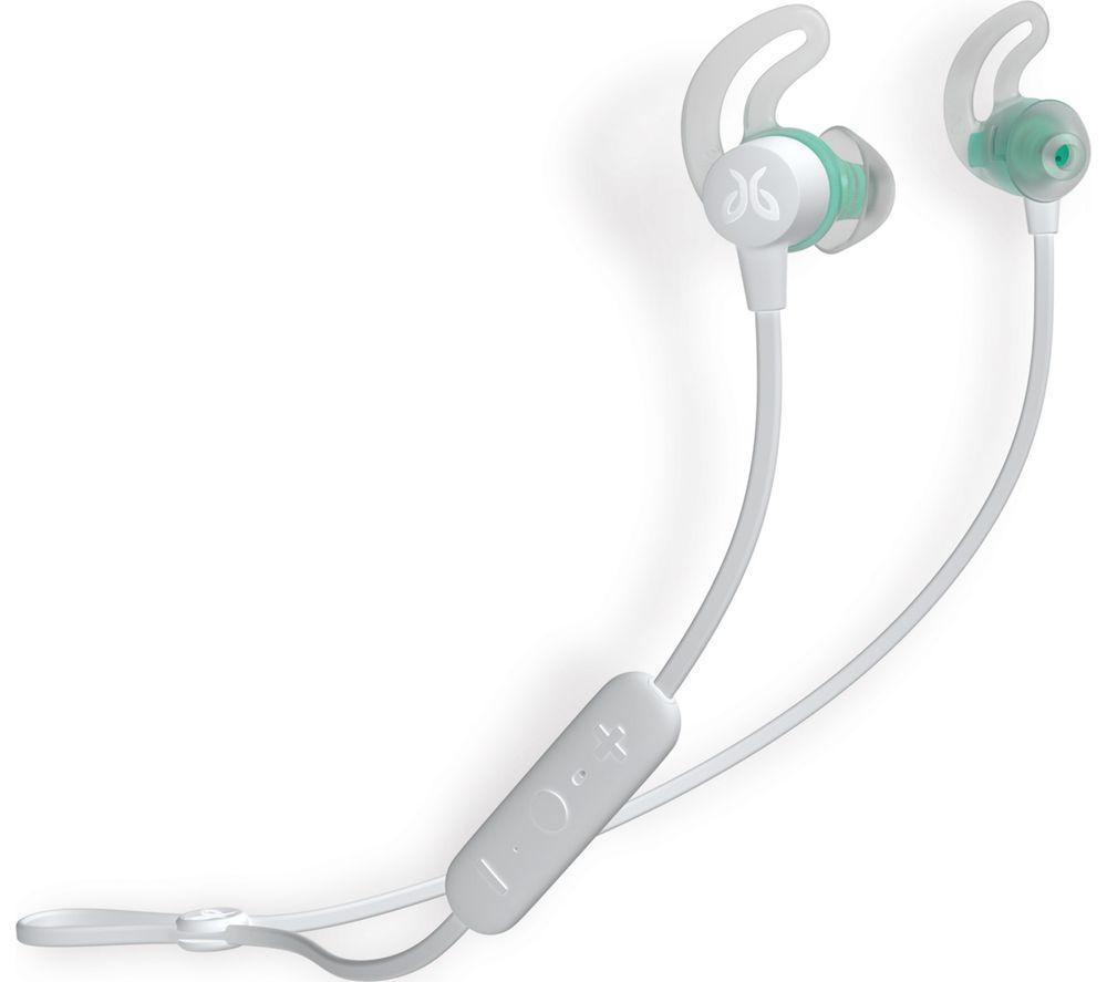 Image of JAYBIRD Tarah Wireless Bluetooth Sports Earphones - Nimbus Gray & Jade, Gray