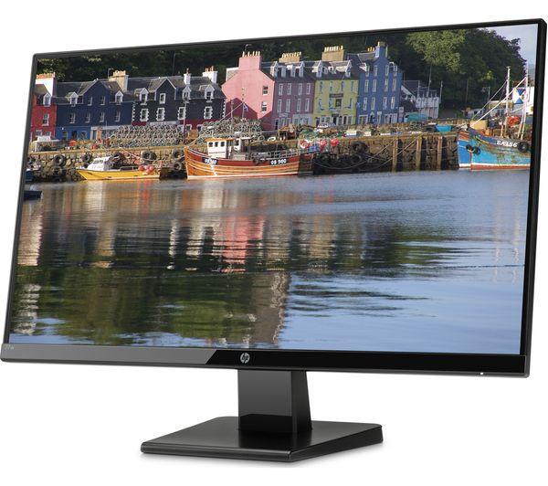 "HP 27w Full HD 27"" LCD Monitor - Black - Currys 2"