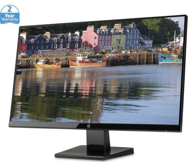 "HP 27w Full HD 27"" LCD Monitor - Black - Currys 5"