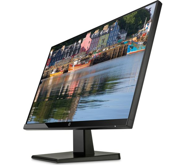 hp 27w full hd 27 ips lcd monitor black fast delivery currysie