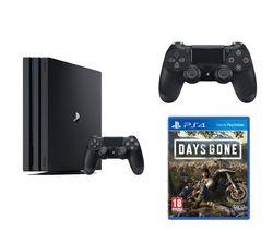 SONY PlayStation 4 Pro, Days Gone & DualShock 4 V2 Wireless Controller Bundle - 1 TB