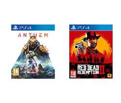 PS4 Anthem & Red Dead Redemption 2 Bundle