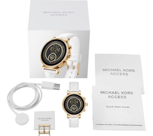 Michael Kors Access White Wireless