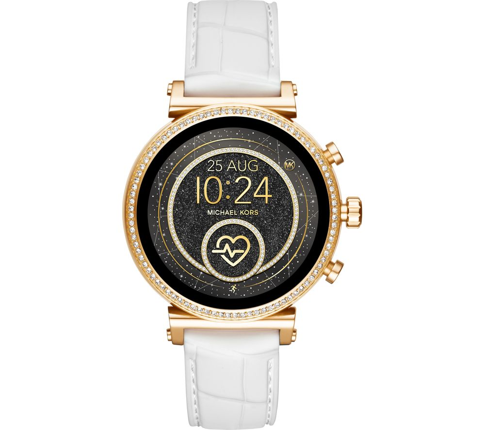 MICHAEL KORS Access Sofie Heart Rate MKT5067 Smartwatch - Gold & White
