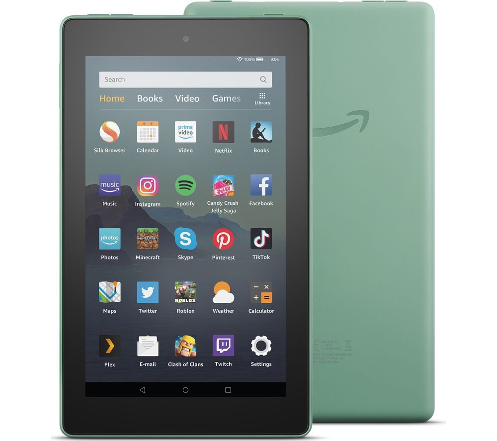 Fire 40 Tablet 40   40 GB, Sage Green