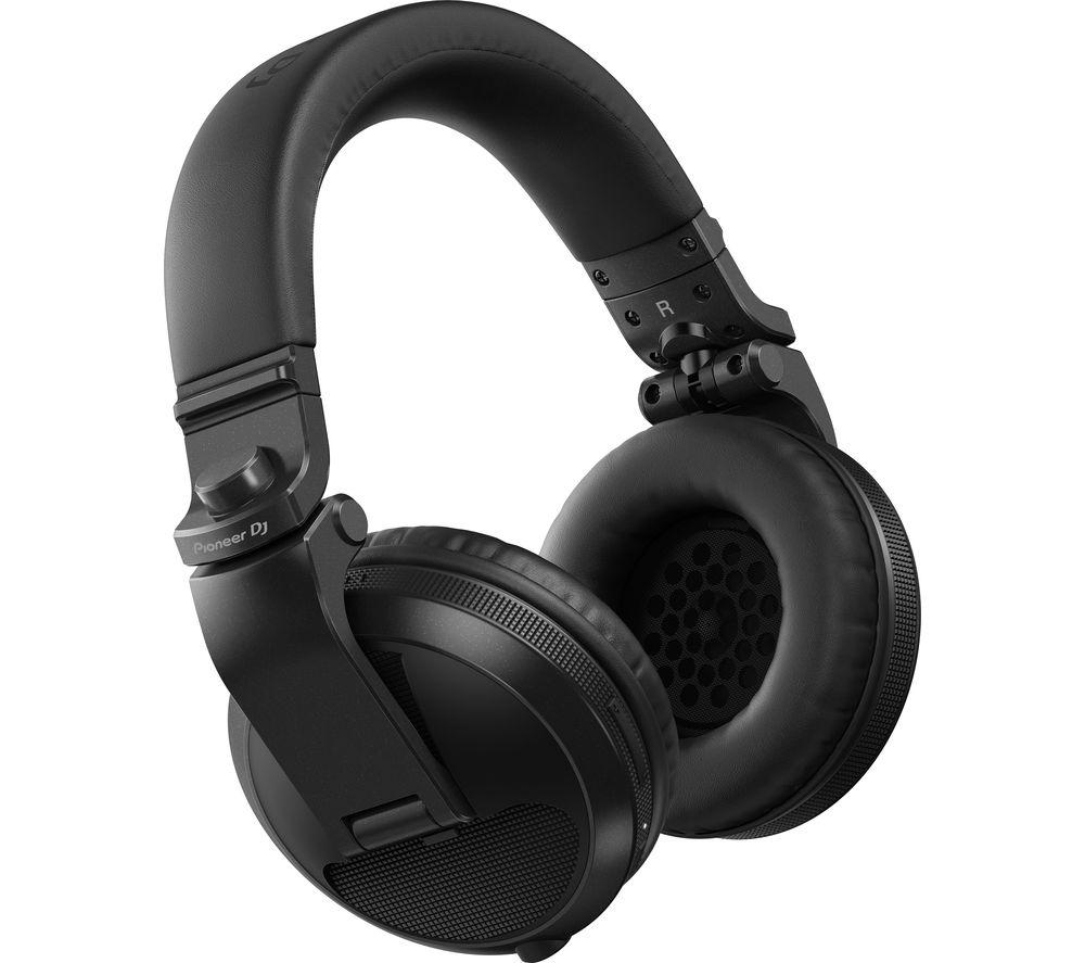 PIONEER DJ HDJ-X5BT-K Wireless Bluetooth Headphones - Black, Black