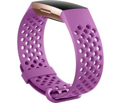 Charge 3 Sport Band - Berry, Large