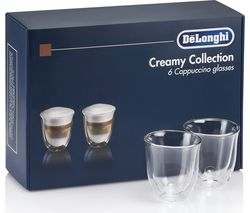 Creamy Collection DLKC301 Double Wall Cappuccino Glasses - Pack of 6