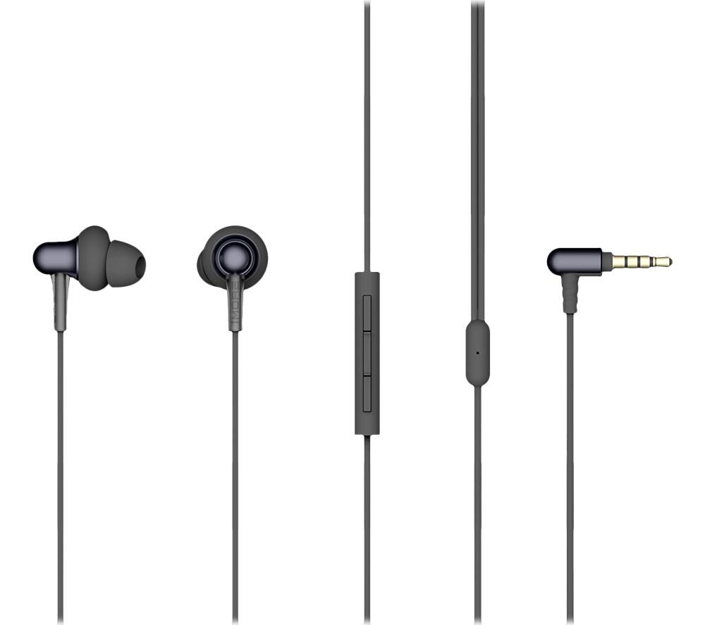 1MORE Stylish Dual-Dynamic E1025 Earphones - Midnight Black