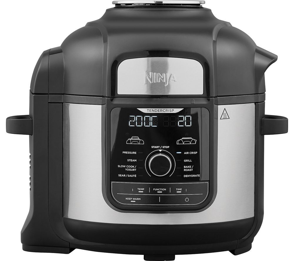 NINJA Foodi Max OP500UK Multi Pressure Cooker & Air Fryer - Black & Silver
