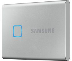 T7 Touch External SSD - 1 TB, Silver
