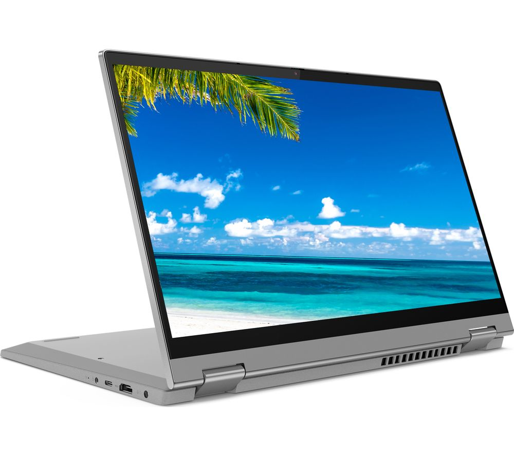 "Image of LENOVO IdeaPad Flex 5i 14"" 2 in 1 Laptop - Intel®Core™ i3, 128 GB SSD, Grey, Grey"