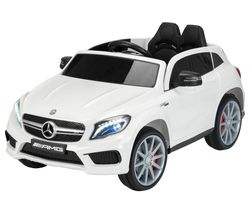 TY6136WH Mercedes-Benz GLA-Class Electric Ride On Toy - White