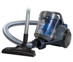 Atlas RHCV3101 Cylinder Bagless Vacuum Cleaner - Spectrum Grey & Blue