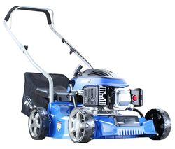 HYM400P Push Petrol Rotary Lawn Mower - Blue