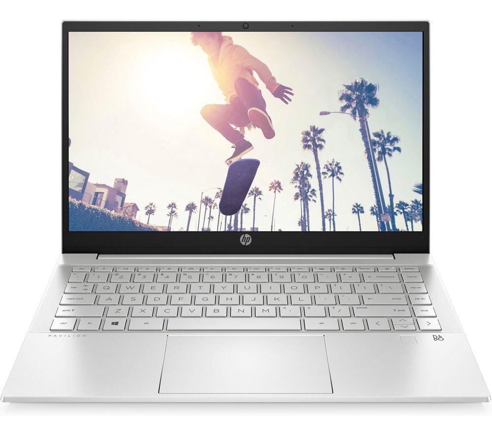 "Image of HP Pavilion 14-dv0564sa 14"" Laptop - Intel®Core™ i7, 512 GB SSD, Silver, Silver"