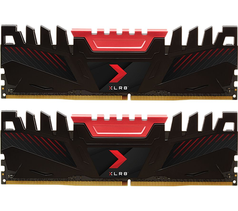 PNY XLR8 DDR4 3200 MHz PC RAM - 8 GB x 2