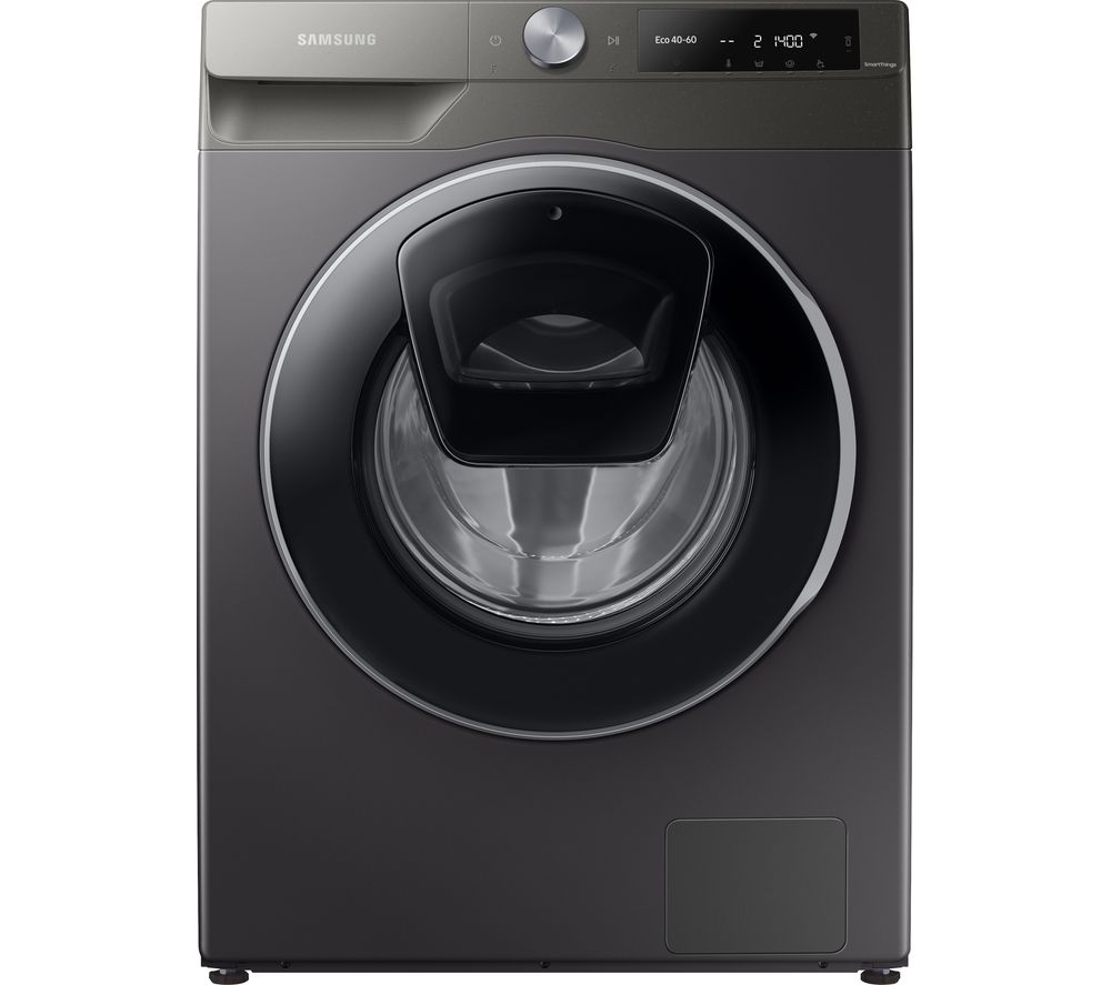 Image of SAMSUNG AddWash WW10T684DLN/S1 WiFi-enabled 10.5 kg 1400 Spin Washing Machine - Graphite, Graphite