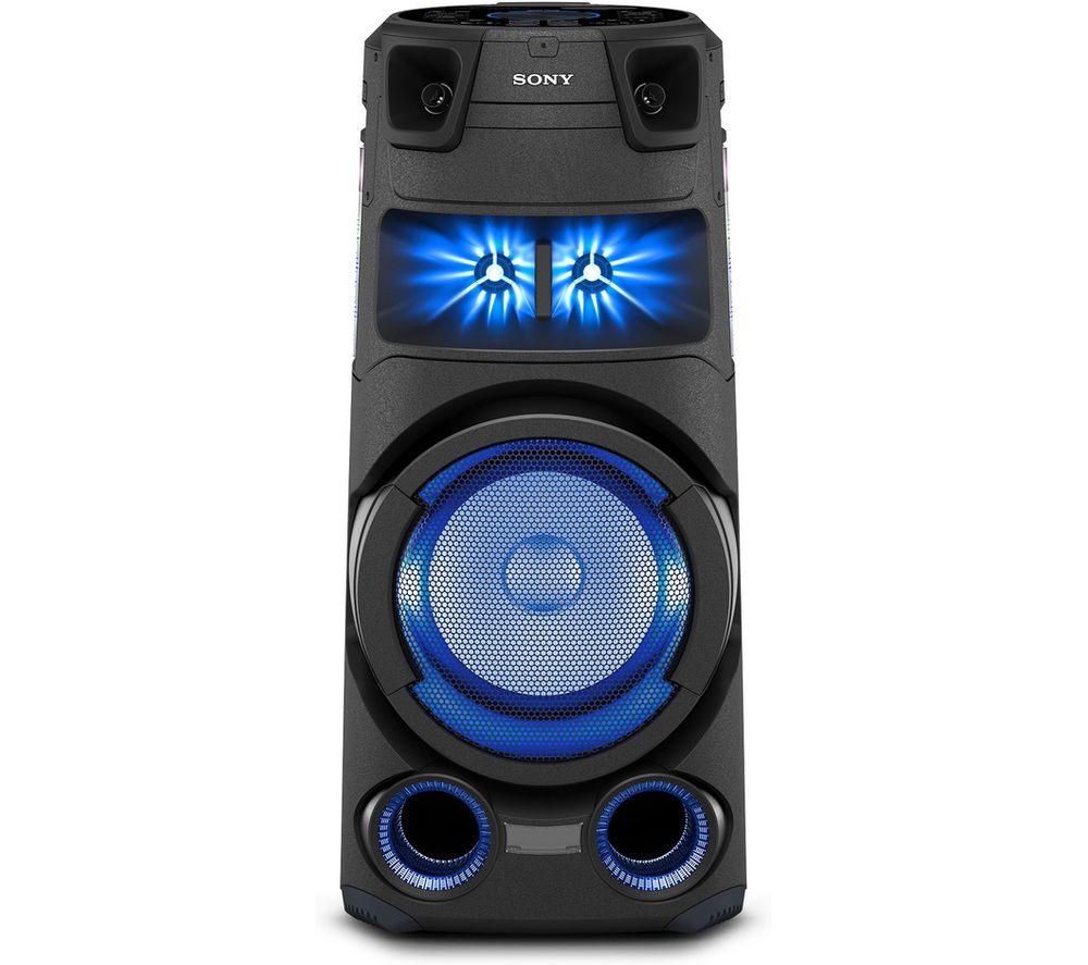 SONY MHC-V73D Bluetooth Megasound Party Speaker - Black, Black