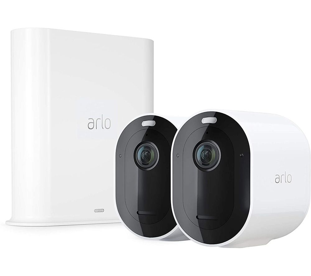 Image of ARLO Pro 3 2K WiFi Security Camera System - 2 Cameras