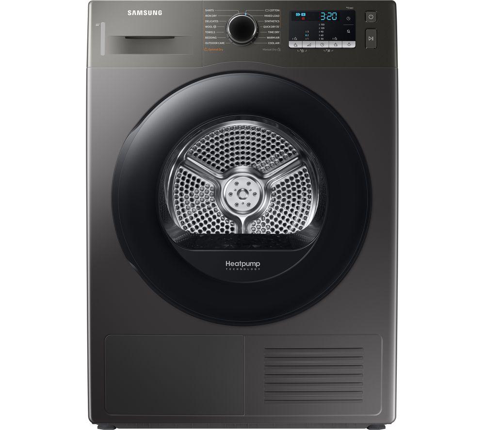 SAMSUNG DV80TA020AX/EU 8 kg Heat Pump Tumble Dryer - Graphite, Graphite