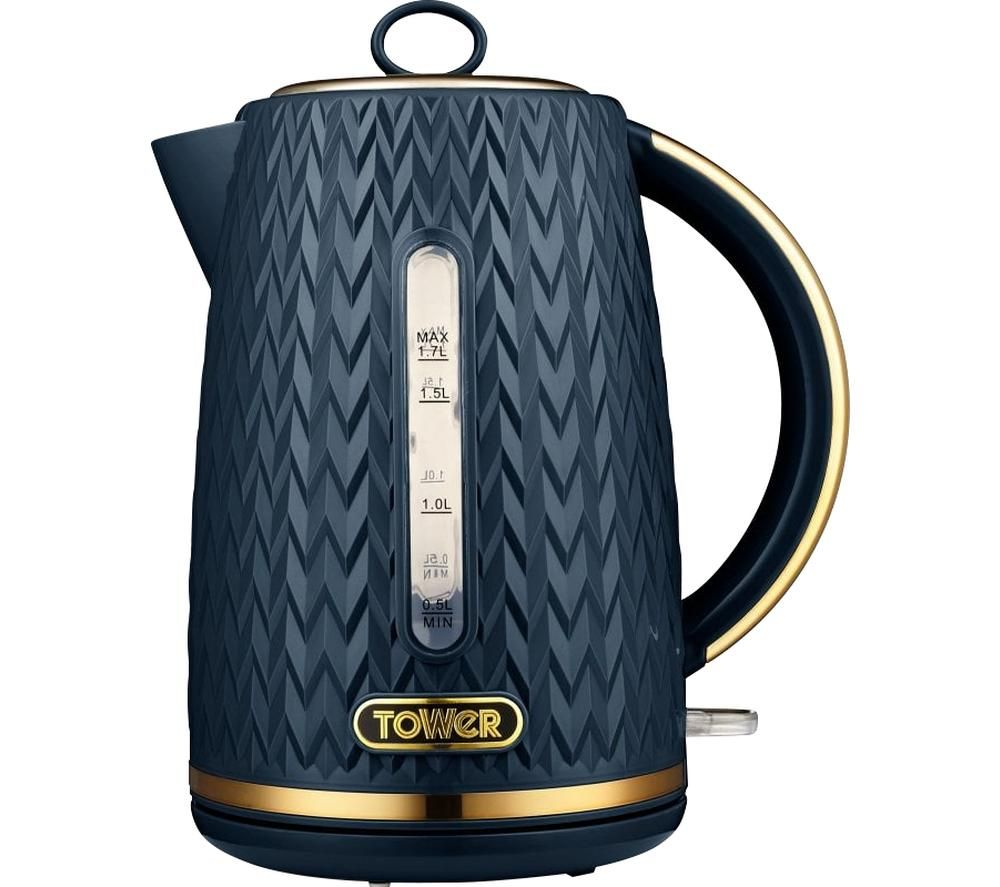 TOWER Empire Collection T10052MNB Jug Kettle - Midnight Blue