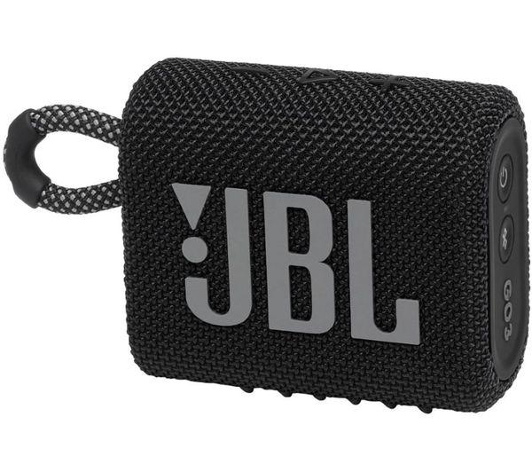 Image of JBL GO3 Portable Bluetooth Speaker - Black