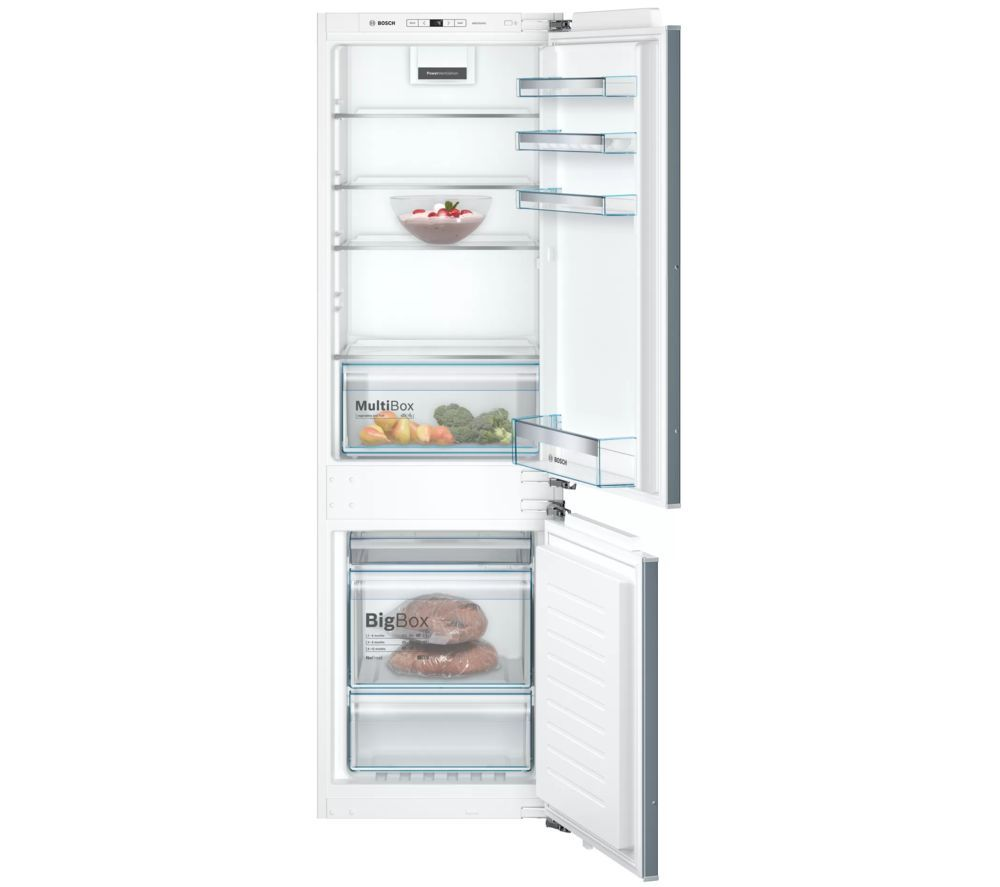 BOSCH Serie 4 KIN86VFF0G Integrated 60/40 Fridge Freezer - Fixed Hinge