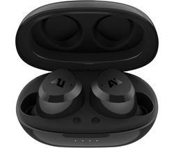 AUSOUNDS AU-Stream Hybrid Wireless Bluetooth Noise-Cancelling Earphones - Black