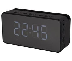 A58117 FM Bluetooth Clock Radio – Black