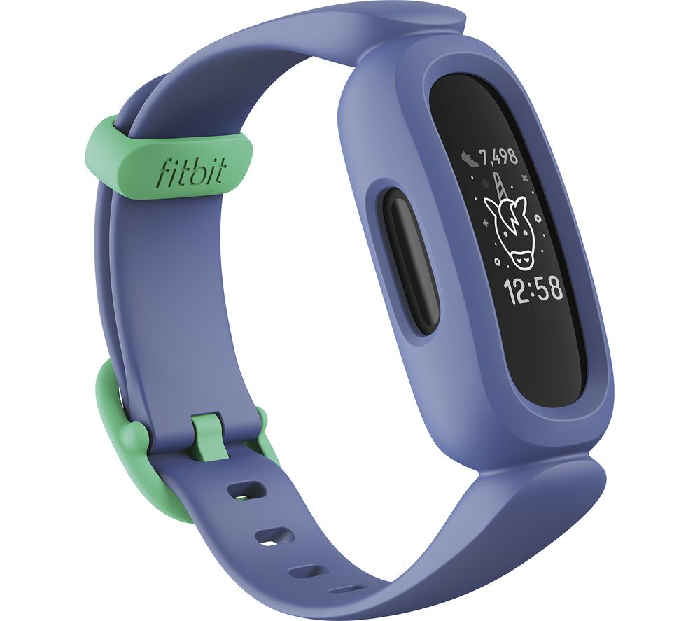 FITBIT ACE 3 Kid's Fitness Tracker - Blue & Green, Universal