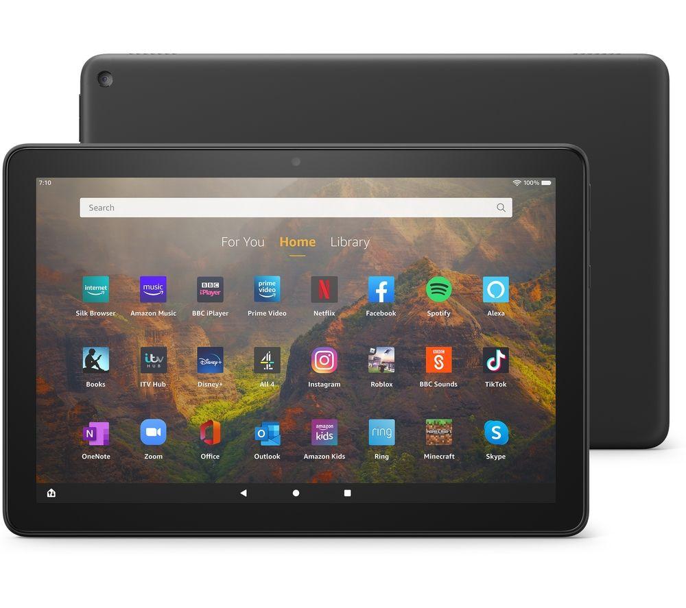 "AMAZON Fire HD 10 10.1"" Tablet (2021) - 32 GB, Black"