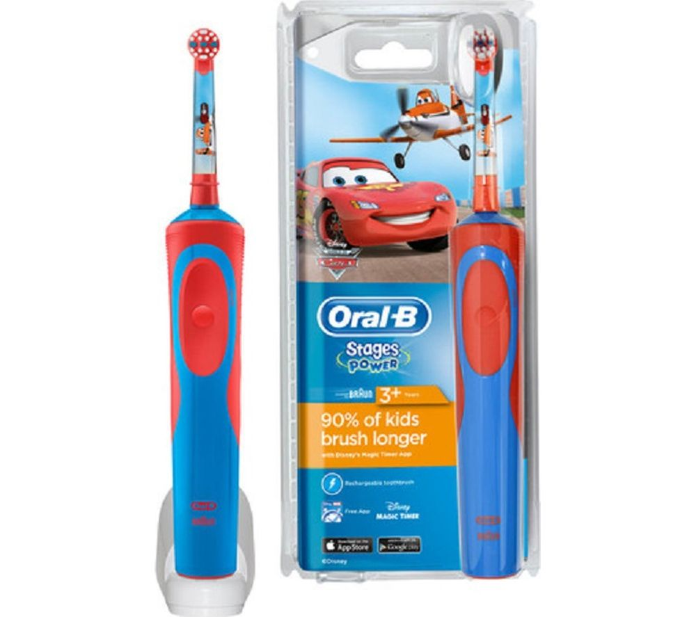 ORAL B Vitality Stages Kids Electric Toothbrush - Disney Cars