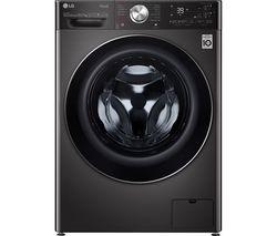 EZDispense with TurboWash360 V11 FWV1117BTSA WiFi-enabled 10.5 kg Washer Dryer - Black Steel