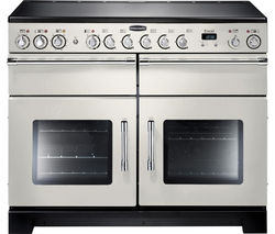 RANGEMASTER Excel 110 Electric Ceramic Range Cooker - Ivory & Chrome