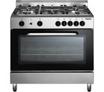 BAUMATIC BC190.2TCSS Gas Range Cooker - Stainless Steel