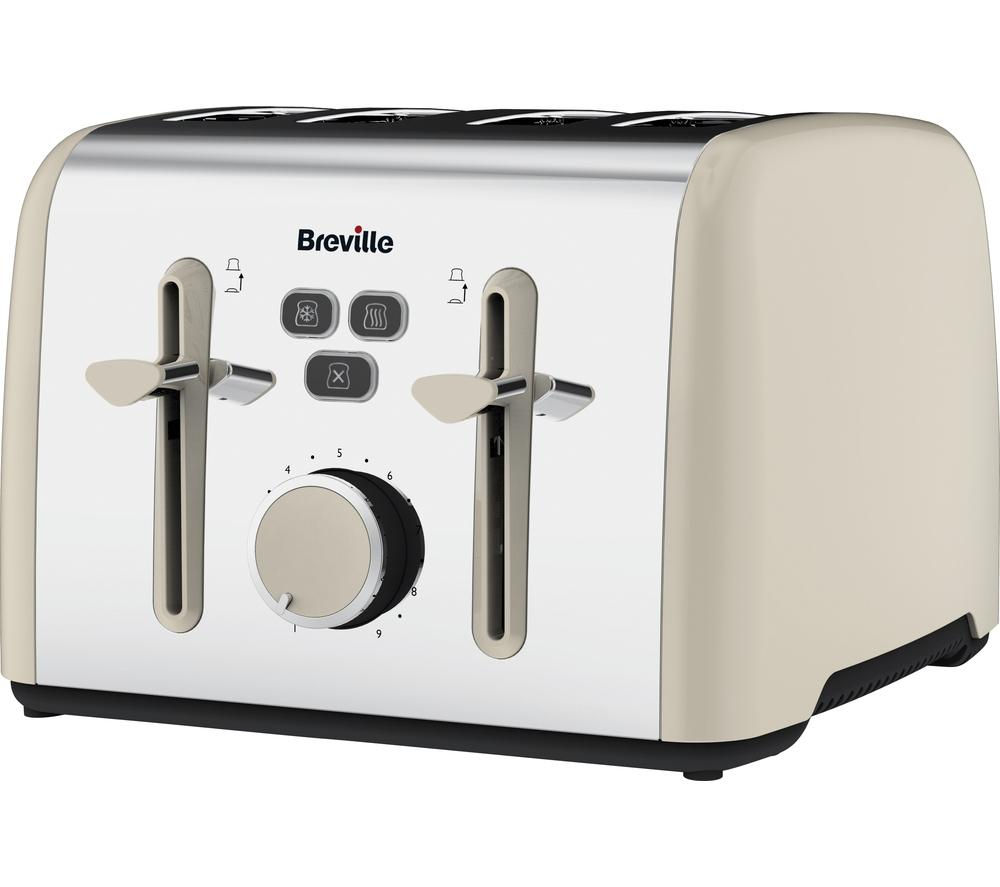 Compare cheap offers & prices of Breville Colour Notes VTT629 4-Slice Toaster manufactured by Breville