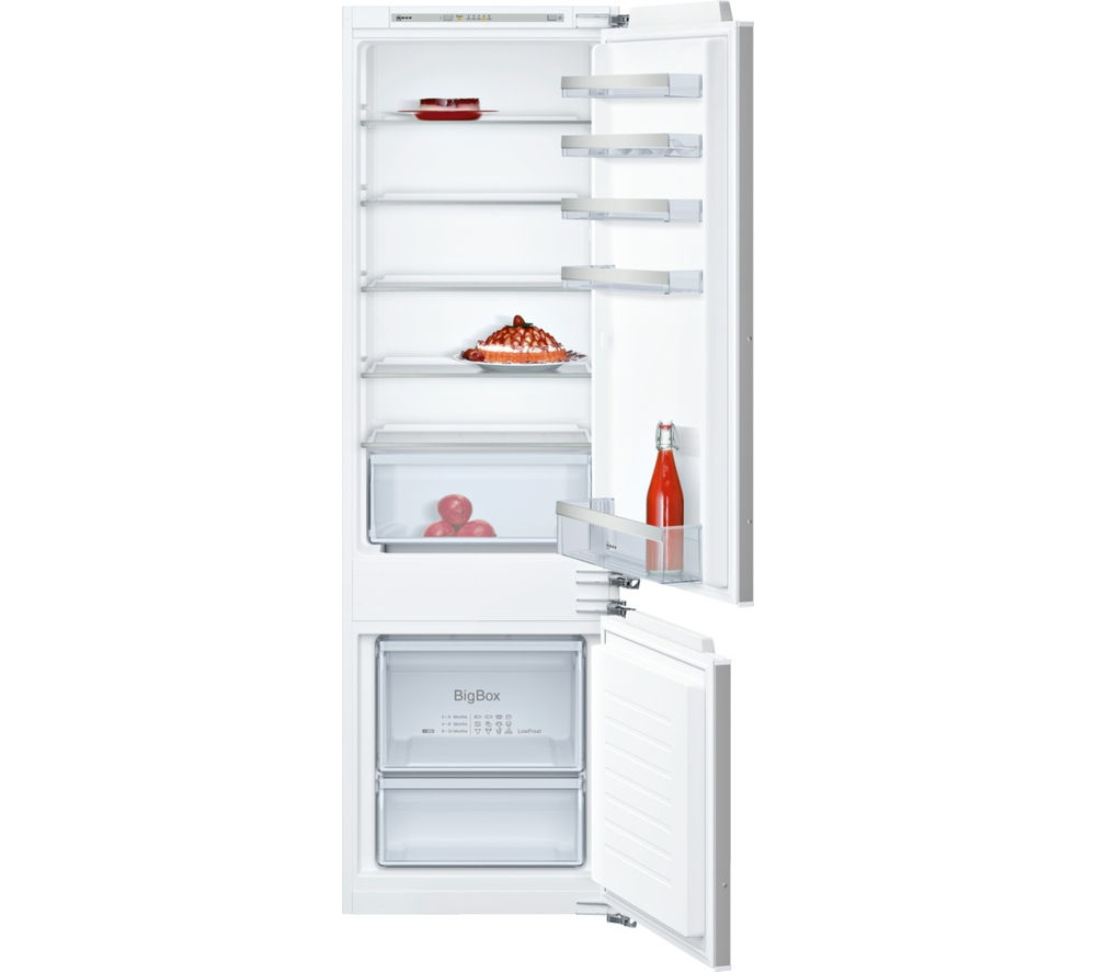 NEFF N50 KI5872F30G Integrated 70/30 Fridge Freezer