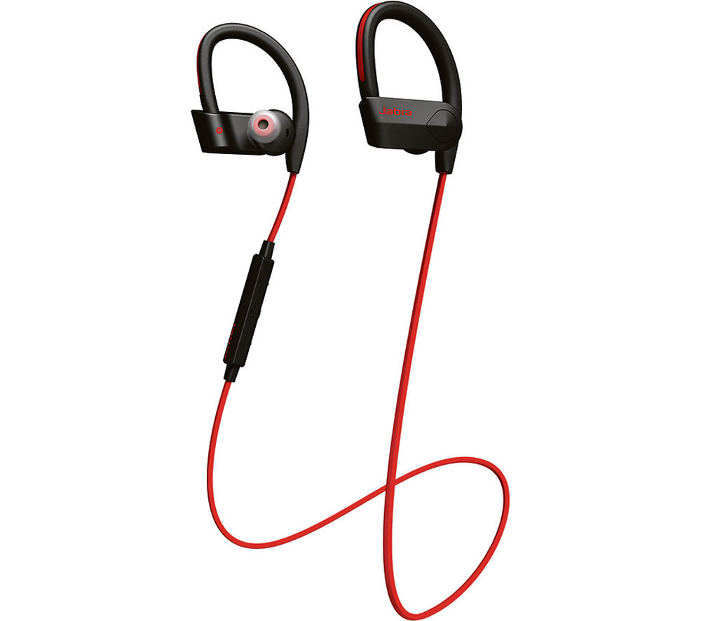 JABRA Sport Pace Wireless Bluetooth Headphones - Red