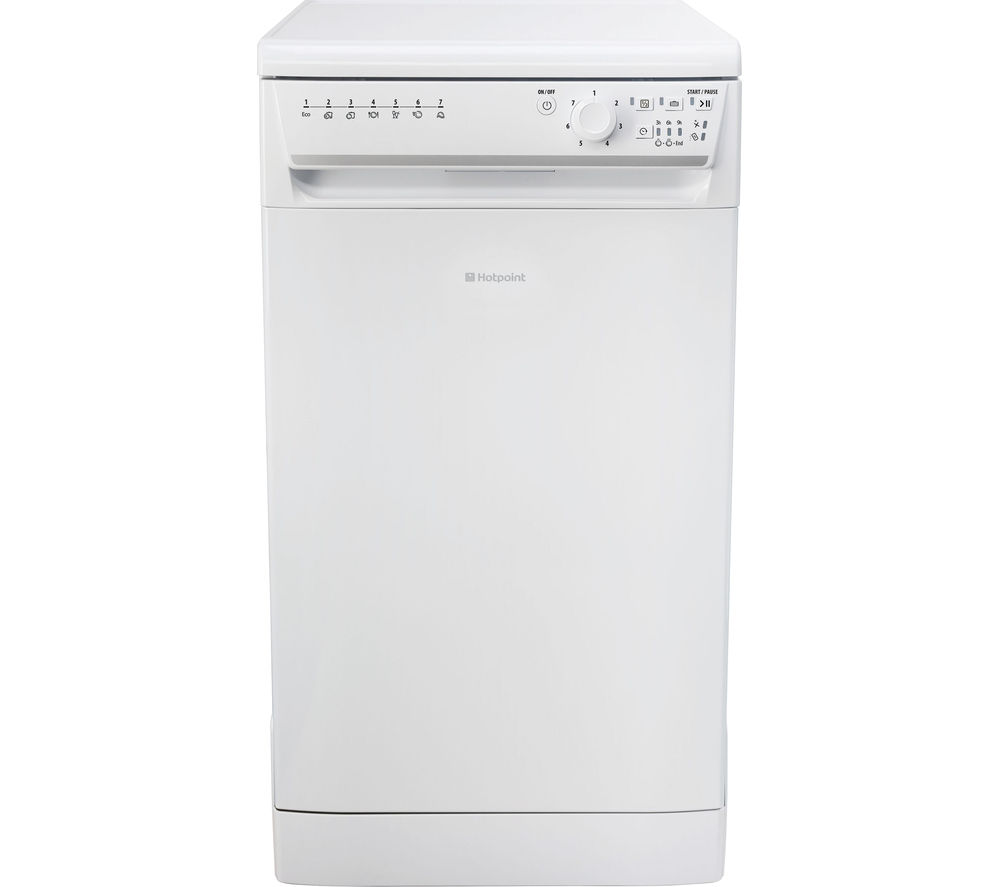 HOTPOINT Aquarius SIAL11010P Slimline Dishwasher - White