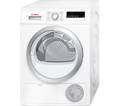 BOSCH Serie 4 WTN85200GB Condenser Tumble Dryer - White
